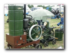 1929 Petter S 5hp diesel driving a Climax No 2 Water Pump