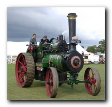 "Natel Taylor's Wallis & Steevens Traction Engine ""Faith"""