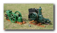 1920 American 1.5hp Ingeco driving a horizontal pump