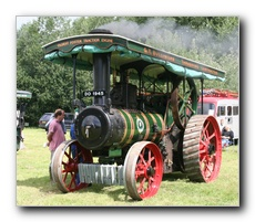 Foster Traction engine