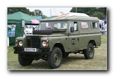 Army Land Rover