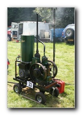 Petter M, this is a 11930 2hp Tank cooledPetter M driving a 230 Volt Generator