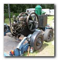 Another Ruston, this is a 1938 13/14hp Ruston Hornsby 2XHR