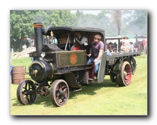 4 Ton Foden Steam Wagon
