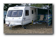 2003 Bailey Pageant Champagne with the Fiamma Sun canopy