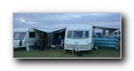 Our Caravans showing the use of Fiamma Awnings