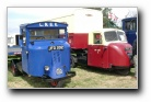 Scammell delivery trucks