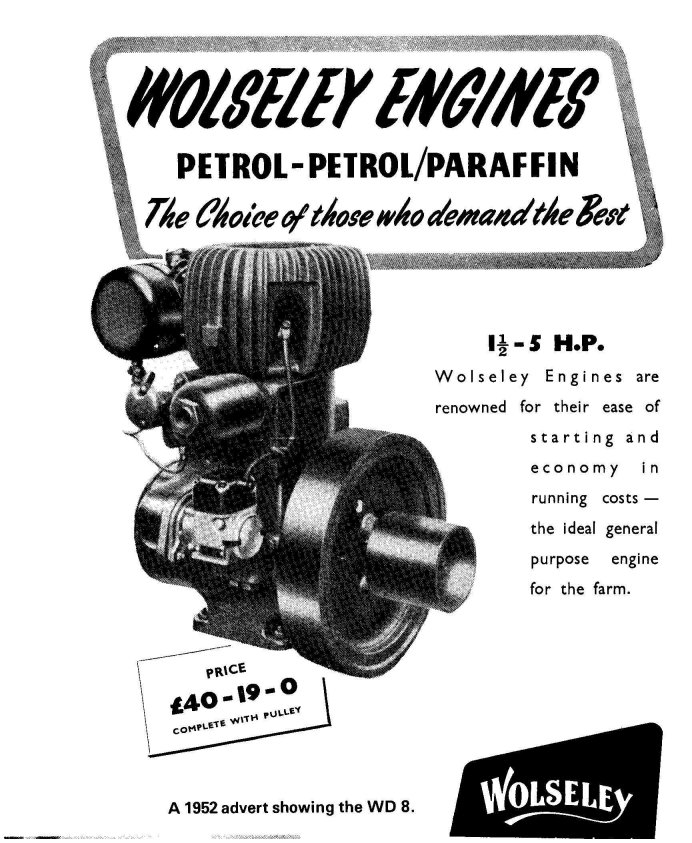 Wolseley Stationary Engine   eBay